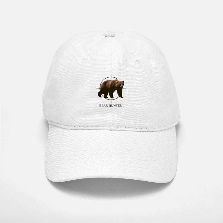 Bear Hunter Baseball Baseball Cap