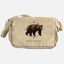 Bear Hunter Messenger Bag