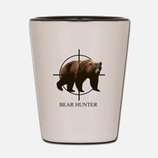Bear Hunter Shot Glass