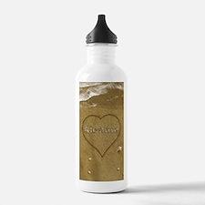 Alondra Beach Love Sports Water Bottle