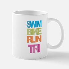 SWIM BIKE RUN TRI Mugs
