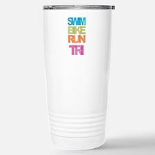 SWIM BIKE RUN TRI Travel Mug