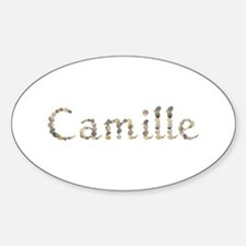 Camille Seashells Oval Decal