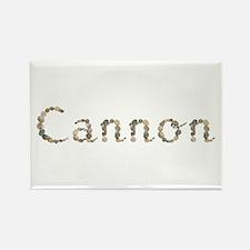 Cannon Seashells Rectangle Magnet