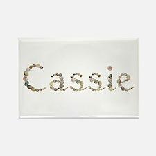 Cassie Seashells Rectangle Magnet