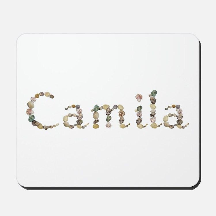 Camila Seashells Mousepad