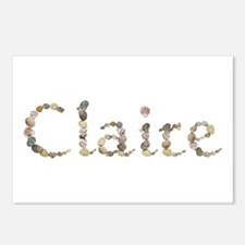 Claire Seashells Postcards 8 Pack