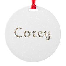 Corey Seashells Ornament