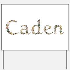 Caden Seashells Yard Sign
