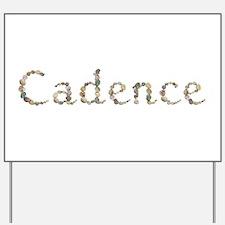 Cadence Seashells Yard Sign