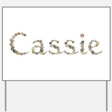 Cassie Seashells Yard Sign