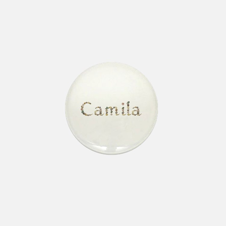 Camila Seashells Mini Button