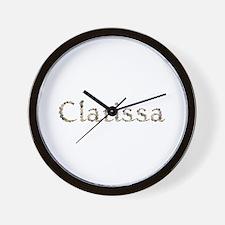 Clarissa Seashells Wall Clock