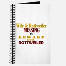 Wife & Rottweiler Missing Journal