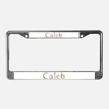 Caleb Seashells License Plate Frame