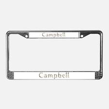 Campbell Seashells License Plate Frame