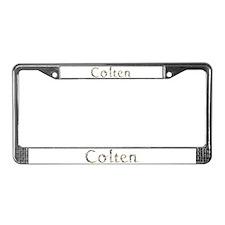 Colten Seashells License Plate Frame
