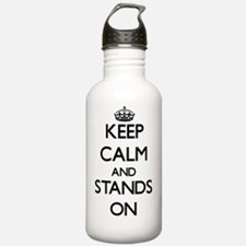 Keep Calm and Stands O Water Bottle