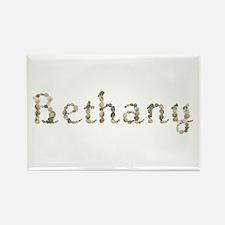 Bethany Seashells Rectangle Magnet