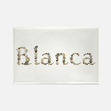Blanca Seashells Rectangle Magnet