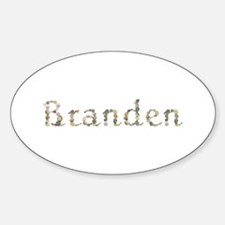 Branden Seashells Oval Decal