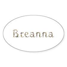 Breanna Seashells Oval Decal