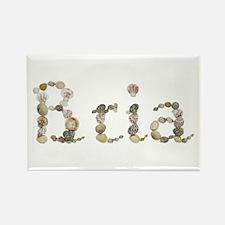 Bria Seashells Rectangle Magnet