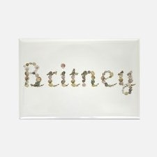 Britney Seashells Rectangle Magnet