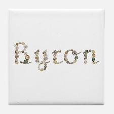 Byron Seashells Tile Coaster