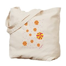 CANDY SWIRLS Tote Bag