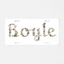 Boyle Seashells Aluminum License Plate