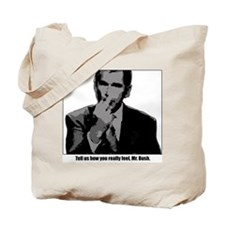Bush Middle Finger Tote Bag