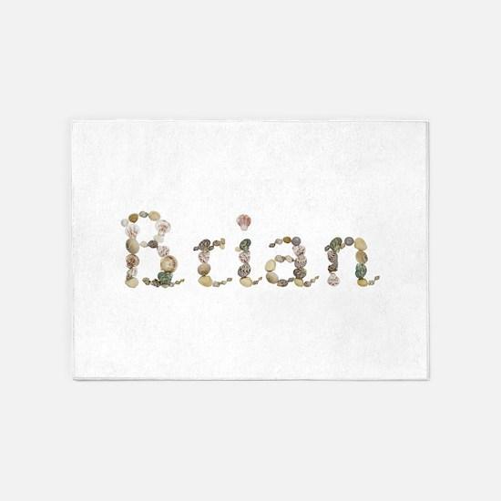 Brian Seashells 5'x7' Area Rug