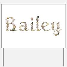 Bailey Seashells Yard Sign