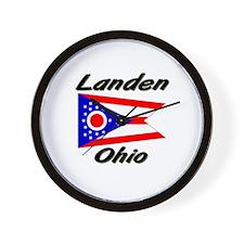 Landen Ohio Wall Clock