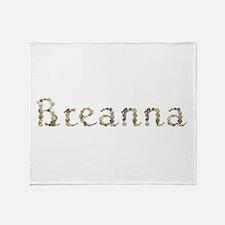 Breanna Seashells Throw Blanket
