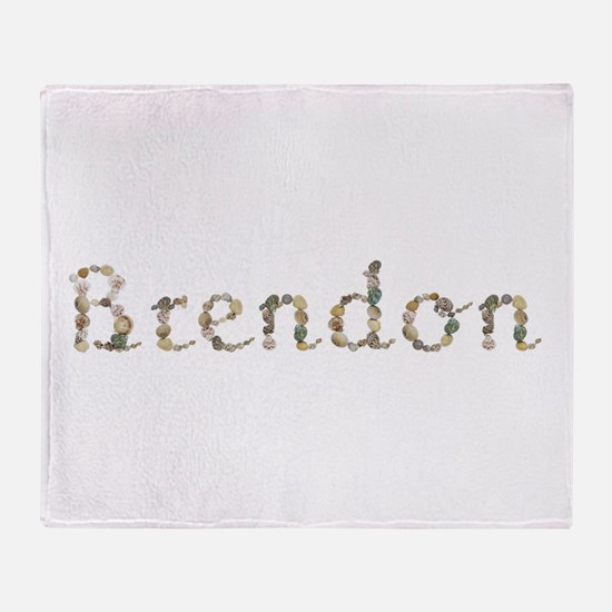 Brendon Seashells Throw Blanket