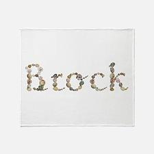 Brock Seashells Throw Blanket