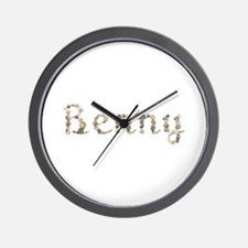 Benny Seashells Wall Clock