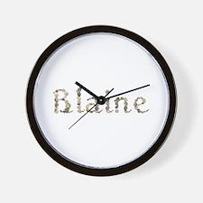 Blaine Seashells Wall Clock