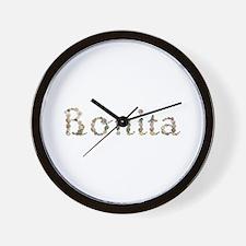 Bonita Seashells Wall Clock