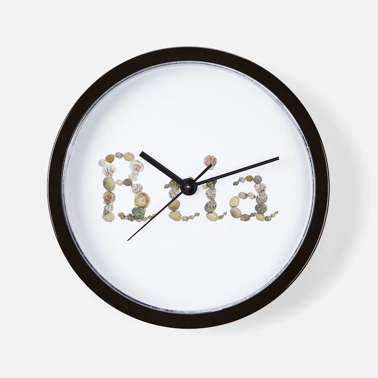 Bria Seashells Wall Clock