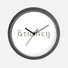 Brittney Seashells Wall Clock