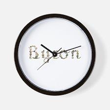 Byron Seashells Wall Clock