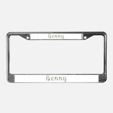 Benny Seashells License Plate Frame
