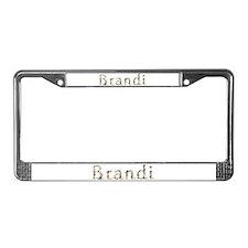 Brandi Seashells License Plate Frame