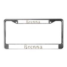 Brenna Seashells License Plate Frame