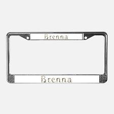 Brenna Seashells License Plate Frame