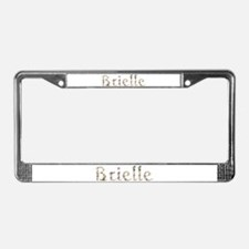 Brielle Seashells License Plate Frame