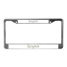Brynn Seashells License Plate Frame